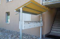 Briefkasten Vordach