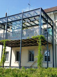 Balkonanbau, Balkongeländer, Metallbau, Metallbauer