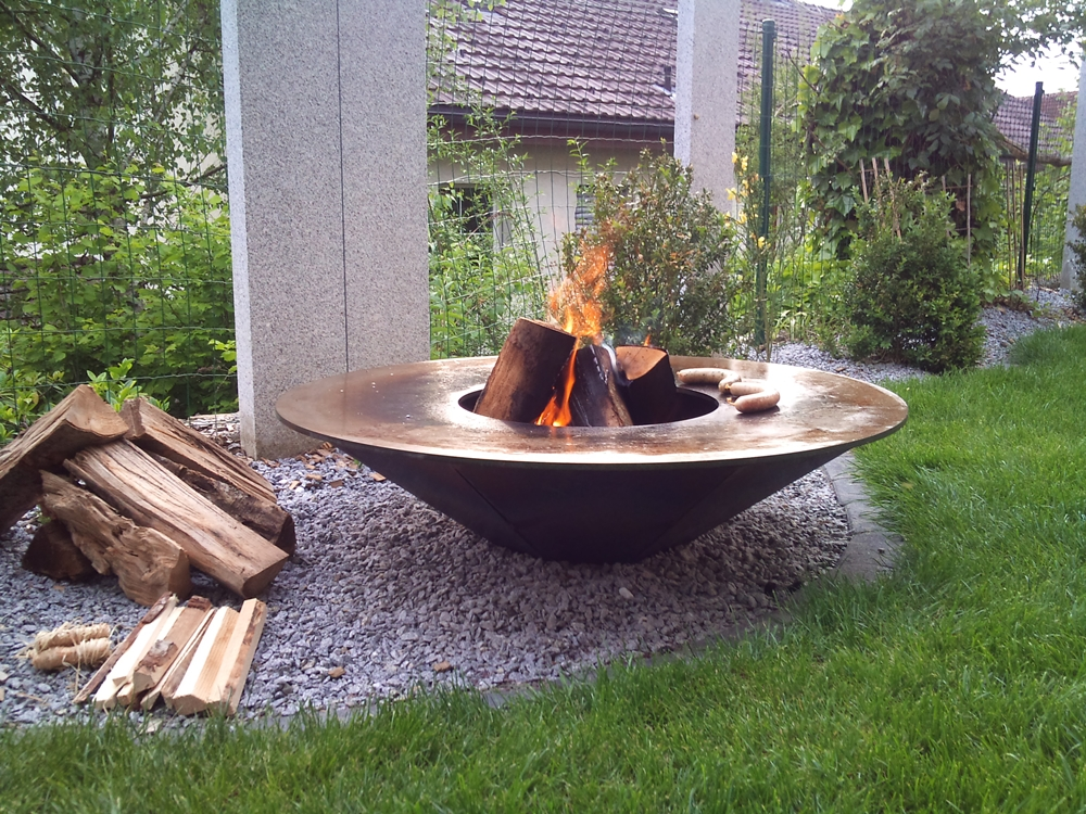 Frühlingsaktion 2021 Feuerschalen